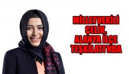 Milletvekili Çelik, Alanya Kurul Toplantısında