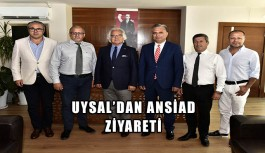 Muratpaşa Belediye Başkanı Uysal'dan ANSİAD ziyareti