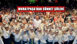Muratpaşa'dan sünnet şöleni