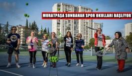Muratpaşa sonbahar dönemi spor okulları başlıyor