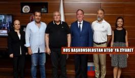 Rus Başkonsolostan ATSO' ya ziyaret