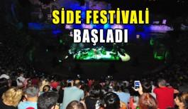 Side Festivali başladı