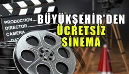 Ücretsiz sinema keyfi