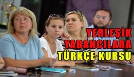 Yerleşik yabancılara Türkçe kursu