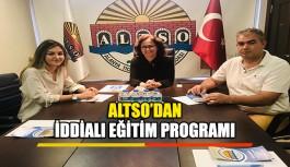 ALTSO'dan iddialı eğitim programı