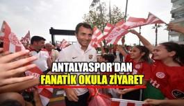 Antalyaspor'dan Fanatik okula ziyaret