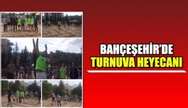 Bahçeşehir'de turnuva heyecanı