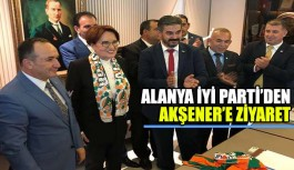 İYİ Parti Alanya'dan Akşener'e...