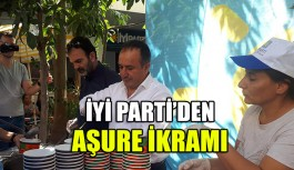 İYİ Parti'den aşure ikramı