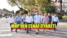 MHP'den esnaf ziyareti