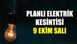 Planlı elektrik kesintisi duyuru !
