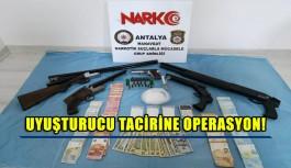 Uyuşturucu tacirine operasyon