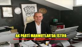 AK Parti Mahalle Başkanı Sönmez istifa etti
