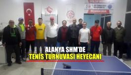 Alanya SHM'de turnuva heyecanı