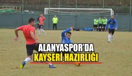 Alanyaspor'da Kayseri hazırlığı