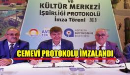 Cemevi protokolü imzalandı