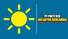 İYİ Parti'den enflasyon açıklaması