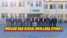 MÜSİAD Kırsal Okullarını Ziyaret Ediyor