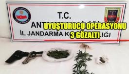 Uyuşturucu operasyonu 3 gözalatı