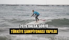 2019 Dalga Sörfü Türkiye Şampiyonası Yapıldı