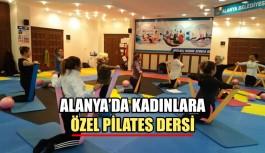 Alanya'da kadınlara Özel pilates dersi