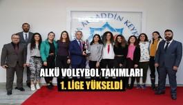 ALKÜ Voleybol Takımları 1. Lige Yükseldi