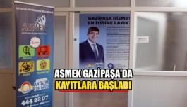 ASMEK Gazipaşa'da kayıtlara Başladı