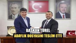 Başkan Türel adaylık dosyasını teslim...