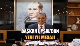 Başkan Uysal'dan yeni yıl mesajı