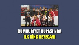 Cumhuriyet Kupası'nda ilk ring heyecanı