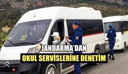 Jandarma'dan okul servislerine denetim