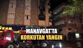 Manavgat'ta korkutan yangın