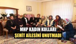 MHP Kadın Kolları Şehit ailesini unutmadı