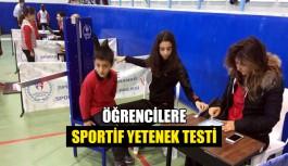 Öğrencilere sportif yetenek testi
