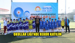 Okullar Ligi'nde rekor katılım