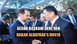 AESOB Başkanı Dere'den Bakan Albayrak'a Dosya