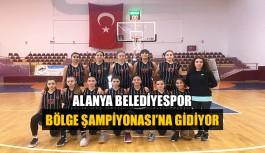 Alanya Belediyespor Bölge Şampiyonası'na gidiyor