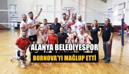 Alanya Belediyespor Bornova'yı mağlup etti
