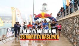Alanya Maratonu 23 Mart'ta Başlıyor