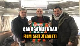 Çavuşoğlu'ndan film seti ziyareti