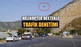 Helikopter destekli trafik denetimi