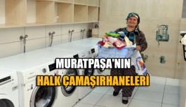 Muratpaşa'nın halk çamaşırhaneleri