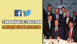 Türkdoğan ve Toklu'nun paylaşımı rekor kırıyor
