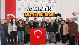Vatan Partisi adayını açıkladı