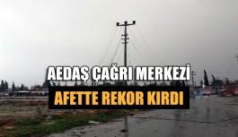AEDAŞ çağrı merkezi afette rekor kırdı