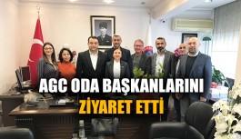 AGC oda başkanlarını ziyaret etti