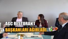 AGC Restoran'ı Başkanları ağırladı
