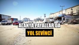 Alanya Payallar'da yol sevinci