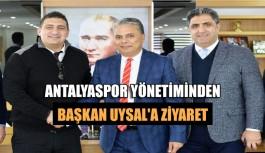 Antalyaspor yönetiminden Başkan Uysal'a ziyaret