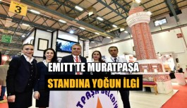 EMITT'te Muratpaşa standına yoğun ilgi